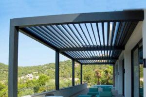 Aluminum Roof & Pergola Background